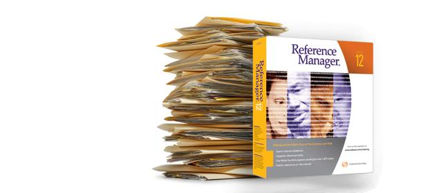 Reference Manager: il software per la gestione dei